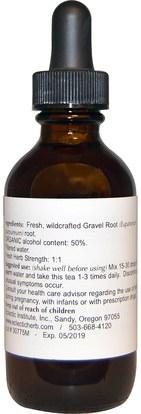 الأعشاب، جذر الحصى Eclectic Institute, Gravel Root, 2 fl oz (60 ml)