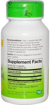 الأعشاب، العرعر، الصحة البولية Natures Way, Juniper Berries, 425 mg, 100 Capsules