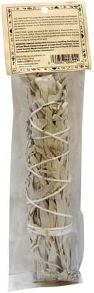 الأعشاب، حكيم، الزيوت العطرية الزيوت، البخور Sage Spirit, Native American Incense, White Sage, Large, 6-7 Inches