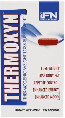 iForce Nutrition, Thermoxyn, Thermogenic Weight Loss Supplement, 120 Capsules ,والصحة، والطاقة