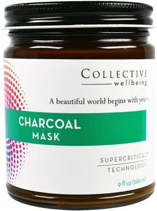 Life Flo Health, Charcoal Mask, 9 fl oz (255 ml) ,الجمال، أقنعة الوجه
