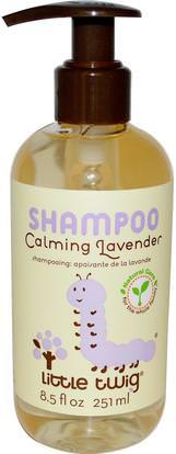 Little Twig, Shampoo, Calming Lavender, 8.5 fl oz (251 ml) ,صحة الأطفال، حمام الاطفال، الشامبو، شامبو الاطفال