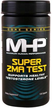 Maximum Human Performance, LLC, Super ZMA Test, 120 Capsules ,الرياضة، زما