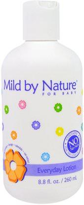 Mild By Nature, For Baby, Everyday Lotion, 8.8 fl oz (260 ml) ,حمام، الجمال، غسول الجسم، إمرأة، لوسيون