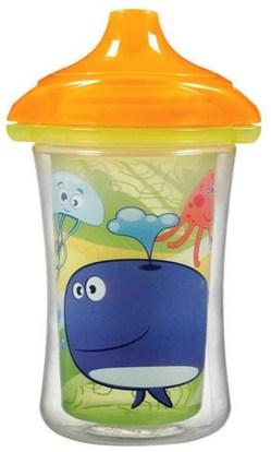 Munchkin, Insulated Sippy Cup, 9 oz (266 ml) ,صحة الأطفال، أطفال الأطعمة، تغذية الطفل، سيبي الكؤوس