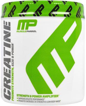 MusclePharm, Creatine.661 lbs (300 g) ,والرياضة، ومسحوق الكرياتين
