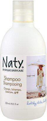 Naty, Shampoo, 8.5 fl oz (250 ml) ,حمام، الجمال، دقة بالغة، فروة الرأس، الشامبو