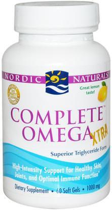 Nordic Naturals, Complete Omega Xtra, Lemon, 1000 mg, 60 Soft Gels ,Herb-sa