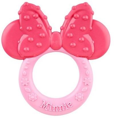 NUK, Disney Baby, Minnie Mouse Teether, 3+ Months, 1 Teether ,الأطفال الصحة، لعب الأطفال، التسنين اللعب