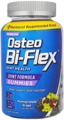 Osteo Bi-Flex, Joint Formula Gummies, Pomegranate Grape, 120 Gummies ,والحرارة المنتجات الحساسة، والصحة، والصحة المشتركة