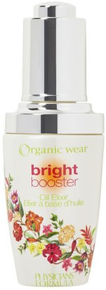 Physicians Formula, Inc., Organic Wear, Bright Booster, Oil Elixir, 1.0 fl oz (30 ml) ,الجمال، العناية بالوجه