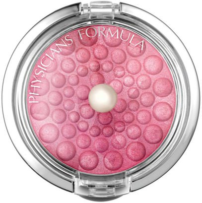 Physicians Formula, Inc., Powder Palette, Mineral Glow Pearls, Rose Pearl, 0.15 oz (4.5 g) ,حمام، الجمال، ماكياج