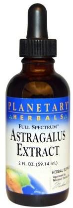 Planetary Herbals, Full Spectrum, Astragalus Extract, 2 fl oz (59.14 ml) ,المكملات الغذائية، أدابتوغن