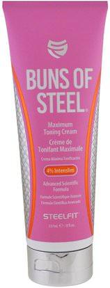 Pro Tan USA, Buns of Steel, Maximum Toning Cream, 8 fl oz (237 ml) ,والرياضة، والصحة، والجلد