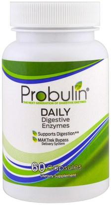 Probulin, Digestive Enzymes, 60 Capsules ,المكملات الغذائية، والإنزيمات