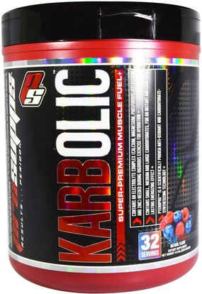 ProSupps, Karbolic, Super-Premium Muscle Fuel, Blue Razz, 4.6 lbs (2080 g) ,والرياضة، والعضلات