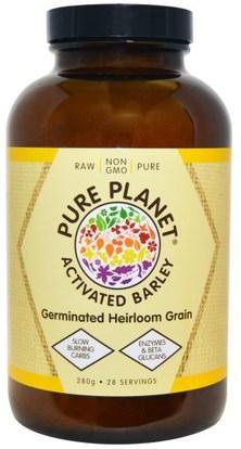Pure Planet, Activated Barley, 280 g ,المكملات الغذائية، سوبرفوودس، العشب الشعير