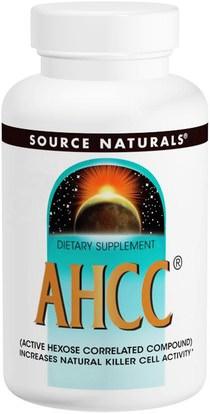 Source Naturals, AHCC, 2 oz (56 g) ,المكملات الغذائية، الفطر الطبية، أهك، مساحيق الفطر
