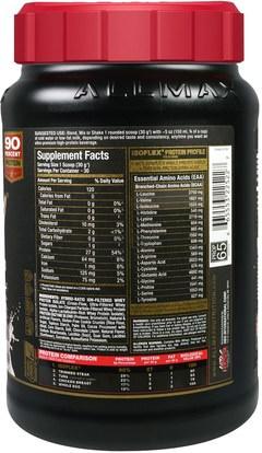 رياضات ALLMAX Nutrition, Isoflex, 100% Ultra-Pure Whey Protein Isolate (WPI Ion-Charged Particle Filtration), Cookies & Cream, 2 lbs (907 g)