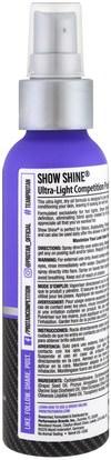 الرياضة، حمام، الجمال Pro Tan USA, Show Shine, Ultra-Light Competition Posing Oil, Step 4, 4 fl oz (118 ml)