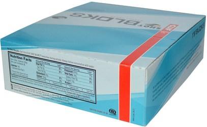 والرياضة، بالكهرباء شرب التجديد Clif Bar, Shot Bloks Energy Chews, Tropical Punch Flavor + Caffeine, 18 Packets, 2.1 oz (60 g) Each