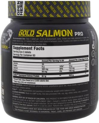 والرياضة، والمكملات الغذائية، والبروتين Olimp, Gold Salmon Pro, 300 Tablets