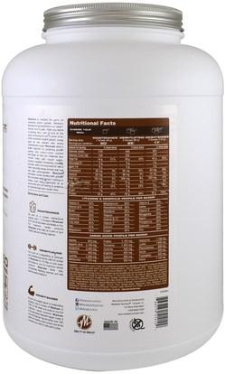 والرياضة، والمكملات الغذائية، بروتين مصل اللبن Metabolic Nutrition, MuscLean, Lean Muscle Weight Gainer, Chocolate Milkshake, 5 lbs