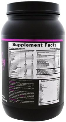 والرياضة، والمنتجات الرياضية النسائية NLA for Her, Her Whey, Ultimate Lean Protein, Vanilla Cupcake, 2 lbs (905 g)