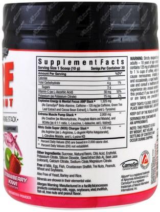 والرياضة، تجريب Bluebonnet Nutrition, Extreme Edge, Pre Workout, Strawberry Kiwi Flavored, 0.66 lbs (300 g)