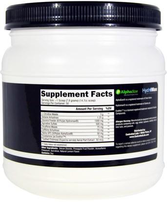الرياضة، تجريب، أكسيد النيتريك Controlled Labs, White Rapids, Electric Lemonade, 13.76 oz (390 g)
