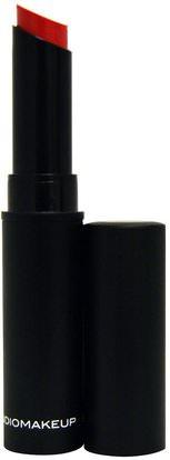 Studio Makeup, Velour Lipstick, Famous Pink, 0.08 oz (2.5 g) ,حمام، الجمال، أحمر الشفاه، لمعان، بطانة