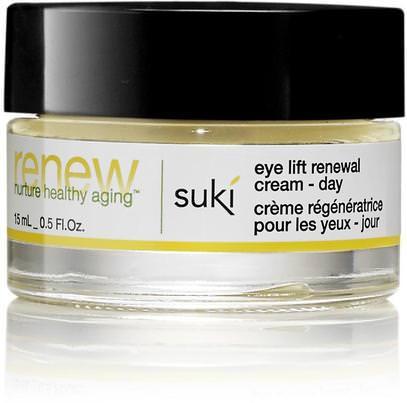 Suki Inc., Renew, Eye Lift Renewal Cream, Day, 0.5 fl oz (15 ml) ,الجمال، كريمات العين، العناية بالوجه، اشراق العناية بالوجه