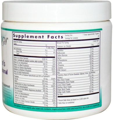 المكملات الغذائية، الكظرية Nutricology, Dr. Wilsons Dynamite Adrenal, 10.6 oz (300 g)