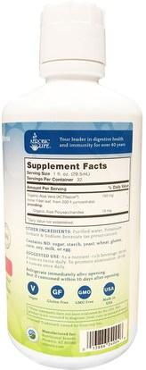 المكملات الغذائية، الألوة فيرا، سائل الألوة فيرا Aerobic Life, Desert Delight, 100% Pure Aloe Vera Juice, 1 qt (32 oz)