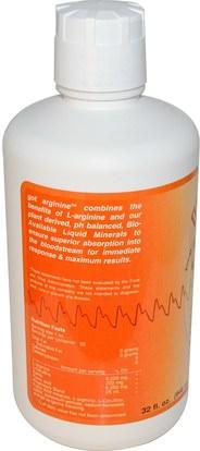 المكملات الغذائية، والأحماض الأمينية، ل أرجينين Morningstar Minerals, Got Arginine?, Orange Flavor, 32 fl oz (946 ml)