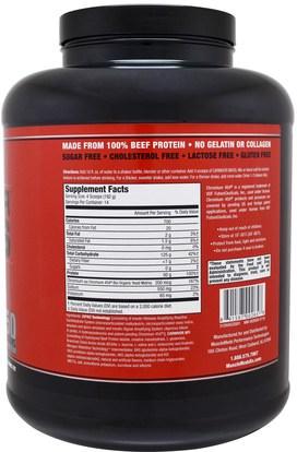 المكملات الغذائية، المكملات الابتنائية، والبروتين MuscleMeds, Carnivor Mass, Anabolic Beef Protein Gainer, Vanilla Caramel, 5.93 lbs (2,688 g)