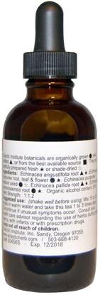 المكملات الغذائية، المضادات الحيوية، السوائل إشنسا Eclectic Institute, Echinacea Premium Blend, 2 fl oz (60 ml)