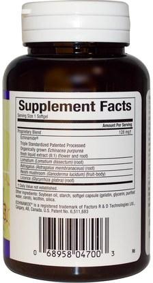 المكملات الغذائية، المضادات الحيوية، الطماطم Natural Factors, Anti-V Formula, with Clinically Proven Echinamide, 60 Softgels