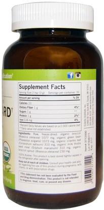 المكملات الغذائية، مضادات الأكسدة، البروكلي الصليبي Eclectic Institute, Green Guard with Broccoli, Whole Food POWder, 3.7 oz (105 g)