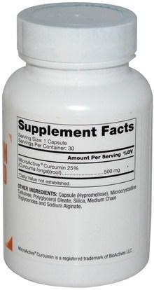 المكملات الغذائية، مضادات الأكسدة، الكركمين Dr. Mercola, Curcumin Advanced, 500 mg, 30 Capsules