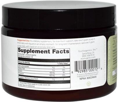 المكملات الغذائية، والألياف، إكونوجينيكش الصحة المناعية، الحمضيات البكتين تعديلها Econugenics, PectaSol-C Modified Citrus Pectin, Powder, 150 g