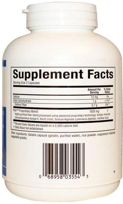 والمكملات الغذائية، والألياف، غلوكومانان (كونجاك الجذر)، وفقدان الوزن، والنظام الغذائي Natural Factors, Slim Styles PGX, 500 mg, 180 Capsules