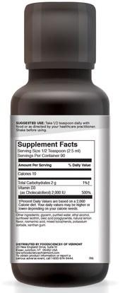 المكملات الغذائية، الصحة، العظام، هشاشة العظام FoodScience, Ultra D, 7.61 oz (225 mg)