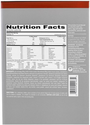 والمكملات الغذائية، والهدايا استبدال وجبة، والبروتين، بروتين الرياضة Natures Best, IsoPure, IsoPure, Low Carb Protein Powder, Dutch Chocolate, 20 Packets, 2.24 oz (66 g) Each