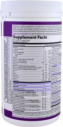 المكملات الغذائية، البروبيوتيك Vibrant Health, Vibrant Flora, Lean Body Support, Probiotics, Version 1.0, Peach Mango, 1.21 oz (343 g)