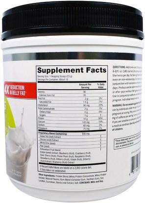 المكملات الغذائية، البروتين، حرق الدهون BodyLab, Fat Burning Protein, Classic Vanilla, 14.6 oz (414 g)