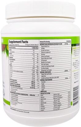 والمكملات الغذائية، والبروتين، سوبرفوودس Macrolife Naturals, MacroMeal Ultimate Superfood, Vanilla + Superfoods, 40.5 oz (1,148 g)