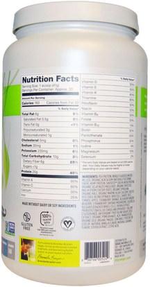 المكملات الغذائية، سوبرفوودس Vega, Vega One, Nutritional Shake, French Vanilla Flavor, 29.2 oz (827 g)