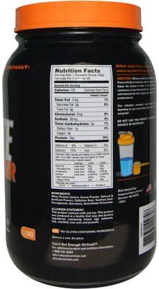 المكملات الغذائية، بروتين مصل اللبن Oh Yeah!, Isolate Power, Chocolate Milkshake, 2 lbs (908 g)