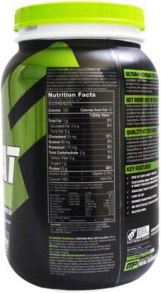 المكملات الغذائية، بروتين مصل اللبن، والرياضة MusclePharm, Combat 100% Whey, Cappuccino, 32 oz (907 g)